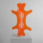 Piruett, skulptur i akrylglas