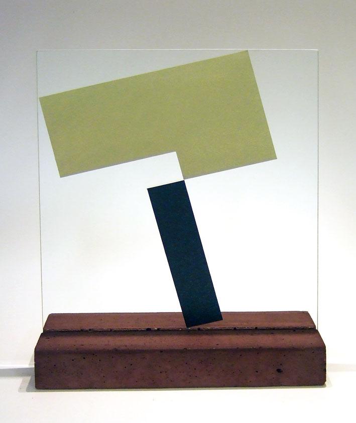 """Glasskulptur """"Reflex-2"""""""