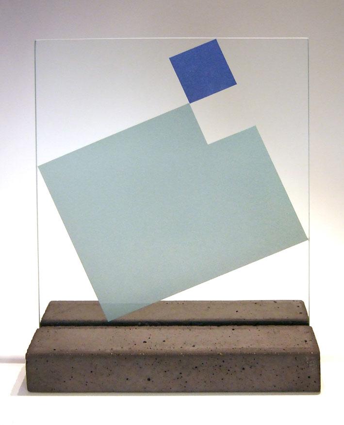 """Glasskulptur """"Reflex-3"""""""