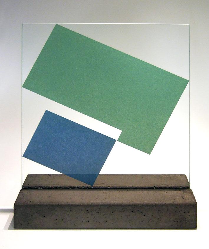 """Glasskulptur """"Reflex-4"""""""