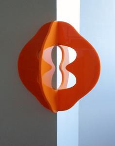 Ringdans, skulptur i akrylglas