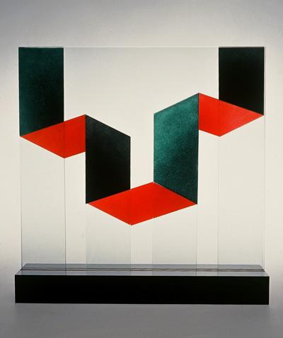 """Glasskulptur """"Passage"""""""