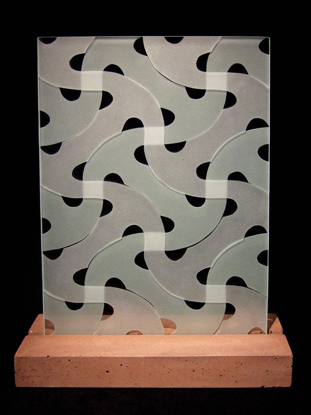 "Glasskulptur ""Roma"""